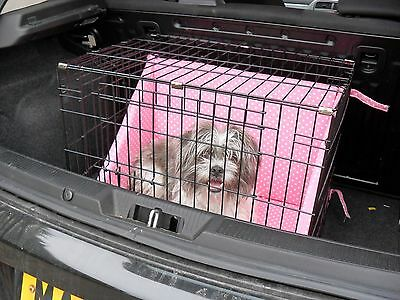 Dog  Cage  Bumper set for comfort whilst crated (crate not included)