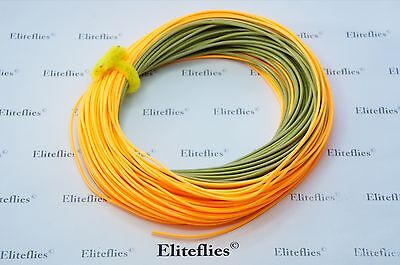 Elite Stealth Distance Fly Line wf7, wf8, fly fishing trout salmon switch flies