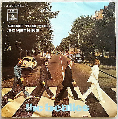 EP THE BEATLES come together something (SPAIN 1969 ) 45 RPM ��
