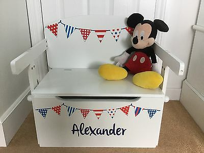 Personalised Toy Box, Storage Bench & Desk - SLIGHT SECONDS - REDUCED