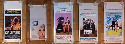 MADONNA LOT OF 5 ITALIAN CINEMA POSTER 33x70 *ROLLED* BODY GIRL SNAKE BLUE FOUR