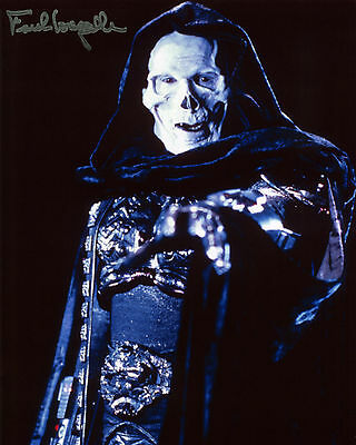 Frank Langella - Skeletor - Masters of the Universe - Signed Autograph REPRINT