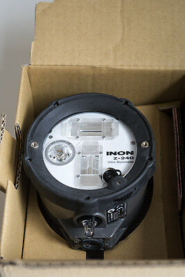 NEW INON Z240 Underwater Strobe Type 4 Optical / Electrical High End