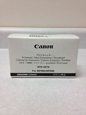 QY6-0078-000 NEW CANON PRINT HEAD for MP990 MP996 MG6120 MG6220 MG8120