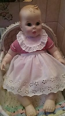 Gerber baby doll + original outfit ,Red & White