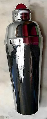 Chrome Stainless Steel Drink Mixer Vintage