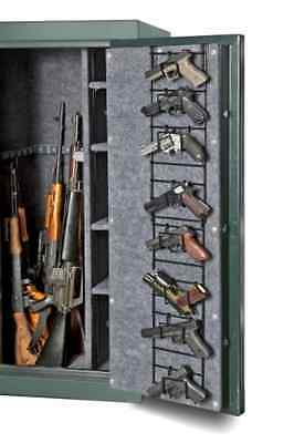 Rack Organizer Gun Safe 8 Pistol Hand Gun Shotgun Rifle Locker Cabinet Hunting