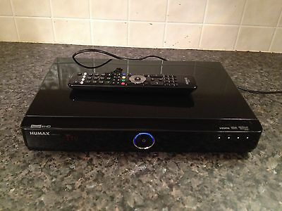 humax hard drive recorder hdr fox t2 500gb free view hd excellent working order