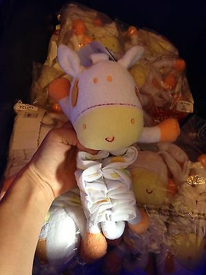 baby soft toy lullaby mobile cot new pink rabbit from birth Bundle 30