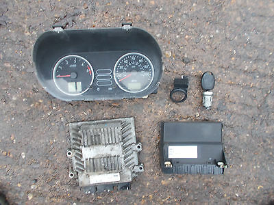 FORD FIESTA Mk6 2002-2005 1.4 TDCi ECU Set Kit 5WS40140D-T 3S61-12A650-LB