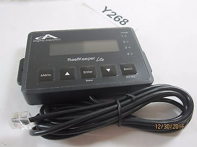 Digital Aquatics ReefKeeper Lite Aquarium Controller Temp & PH  HEAD UNIT ONLY