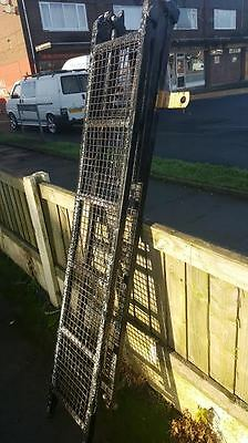 A Pair Foldable Steel Ramps suitable for Autograss Motorsport Stock Car Recovery