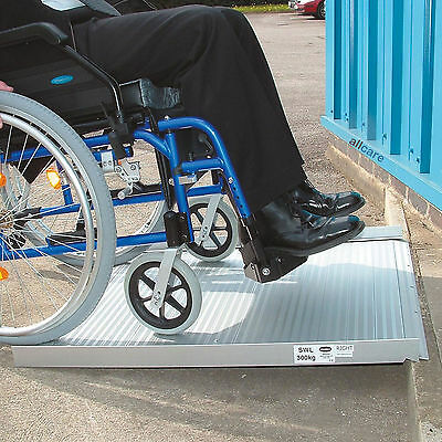 Wheelchair Ramp. 3ft Roll up Portable Access Ramp for Mobility Scooter with Bag
