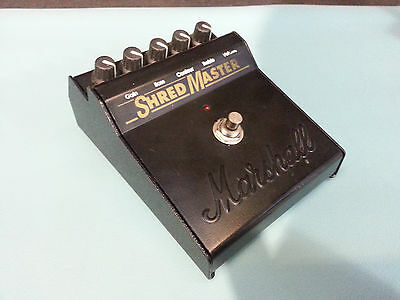 Marshall Shred Master Distortion guitar pedal used