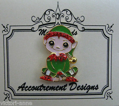 Accoutrement Designs Christmas Elf Needle Minder Magnet Mag Friends