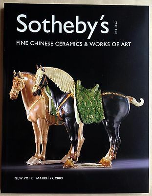 Sothebys FINE CHINESE CERAMICS & WORKS OF ART, SNUFF BOTTLES COLLECTION New York