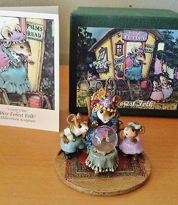 """Wee Forest Folk """"Crystal Clear"""" CM-2000 LIMITED & RETIRED Mint"""