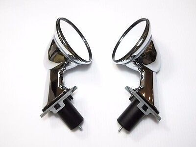 Datsun JDM 510 B110 JDM Fender mirror set Chrome correct reproduction (30-J5203)