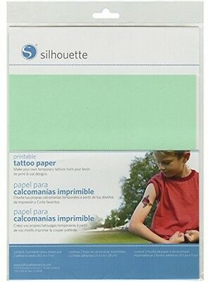 Silhouette Temporary Tattoo Paper Fun and Easy Universal for Inkjet
