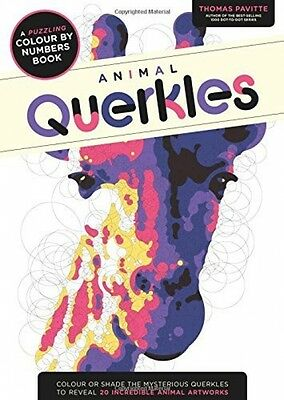 Animal Querkles - A Puzzling Colour By Numbers Book - Paperback - Colouring Book