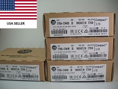 *Ships Today* Allen Bradley 1769-OW8I Isolated Relay Output AB 1769-0W81 0W8I