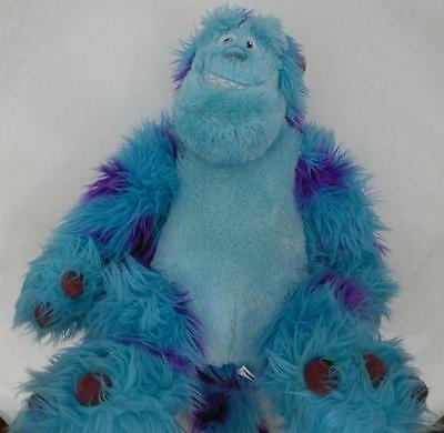 """Disney Pixar Monsters Inc Sully 19"""" Tall Long Haired Plush Toy Stuffed Animal"""