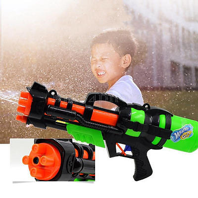 "23"" Large Water Gun Kids Soaker Squirt Beach Pool Pump Action Pistol Toys Gifts"