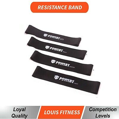 AU Power Resistance Band Home GYM Exercise Workout Fitness Yoga Plates Loop POP