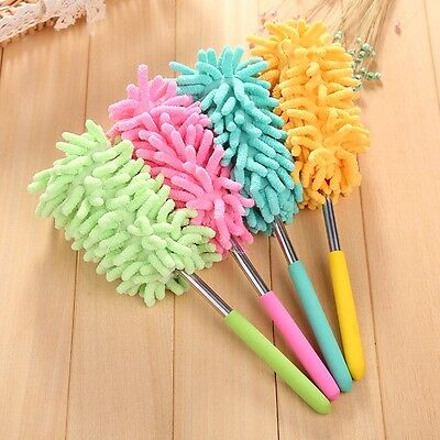 Microfibre Mini Chenille Duster Noodle Cleaning Car Washable Dust Telescopic