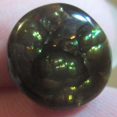 Natural Free form MEXICAN Fire Agate GEM stone  Multicolored 9x10..