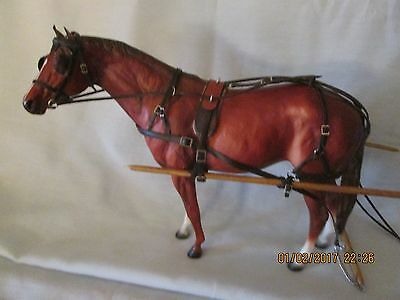 Western Horse, Secretariat # 1187 With Driving Harness