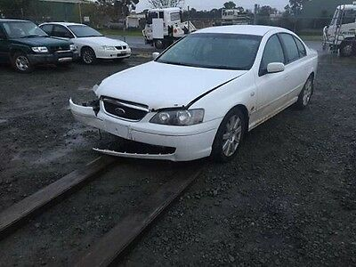 Ford BA 2004 Fairmont Ghia Leather 4L 4 Speed Auto. Car Is Damaged Wrecking