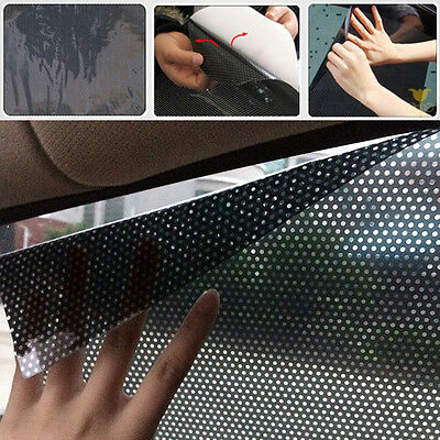 For Car Window Side Shield A Pair Black Static Protection Sun Block Shade Cover
