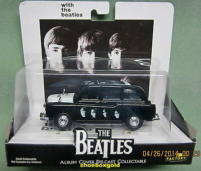 The BEATLES, DIECAST TAXI ASSORTMENT, 4 TAXI ISSUE, Rubber Soul etc.