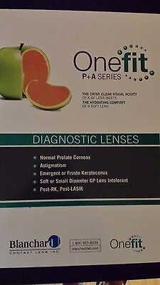 Blanchard  Miniscleral GP Contact Lens Fit Set for Optometry