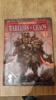 Warhammer 8th Edition Warriors of Chaos Army book