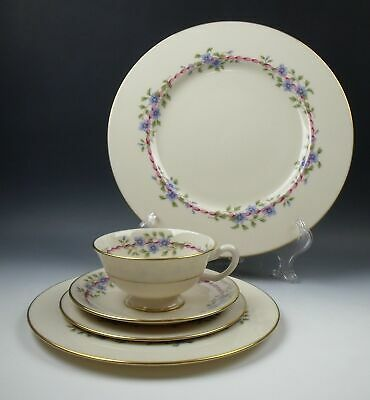 Lenox China BELVIDERE 5 Piece Place Setting(s) EXCELLENT