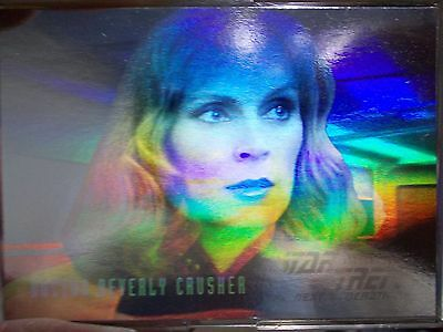 Star Trek Skybox TNG Next Generation Season 3 Hologram Chase Card HG5 Crusher
