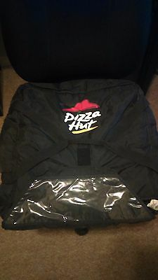 Pizza Hut Delivery Hot Bag - Holds up to Three Pizzas Pizza Hut Logo BLACK