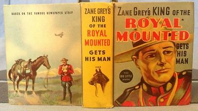 Zane Grey's King of Royal Mounted Gets his Man; Whitman Big Little Books, 1938