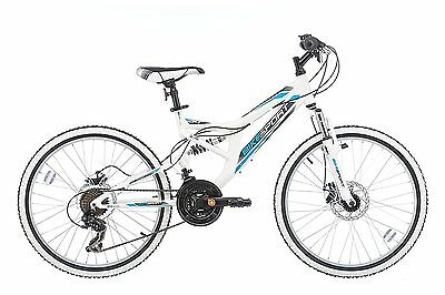 24 Zoll Bikesport DIRECTION KINDERFAHRRAD MTB MOUNTAINBIKE, 18 Gang Shimano