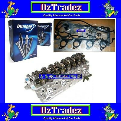 Mitsubishi 4D56-T below Pajero Triton COMPLETE cylinder head KIT Gaskets & Bolts