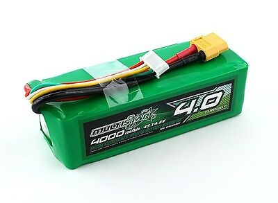Multistar High Capacity 4S 4000mAh Multi-Rotor Lipo Pack battery