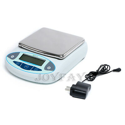 5000 x 0.01 g 10mg 5kg Analytical Digital Weighing Balance Scale for Lab Jewelry