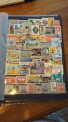 52 timbres Philippines (lot 28)