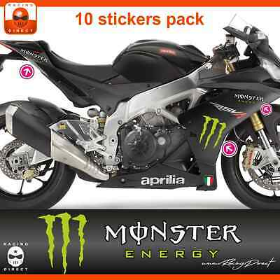 MT01 sticker APRILIA Monster RS4 RSV4 Tuono decal adesivi aufkleber adesivo