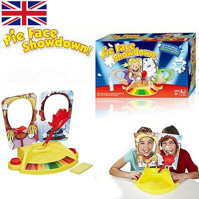 Dual Challenge Pie Face Fun Filled Game Of Suspense Toy Party Showdown Kids Game