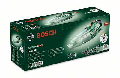 savers choice 6ONLY Bosch PAS18Li BARE Cordless Vacuum 06033B9001 3165140761802'