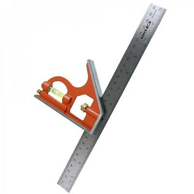 Square Sliding Combination Center Ruler Tool Bahco 300 mm 12 inch