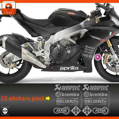 MT03A sticker APRILIA Racing RS4 RSV4 Tuono decal adesivi aufkleber adesivo